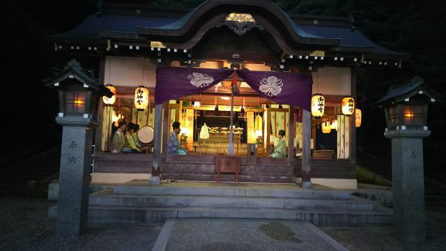 鳥取県深浦神社のお祭り