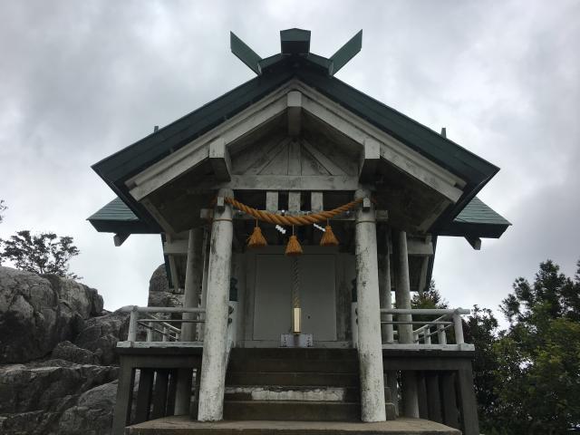 福岡県宝満宮竈門神社の本殿