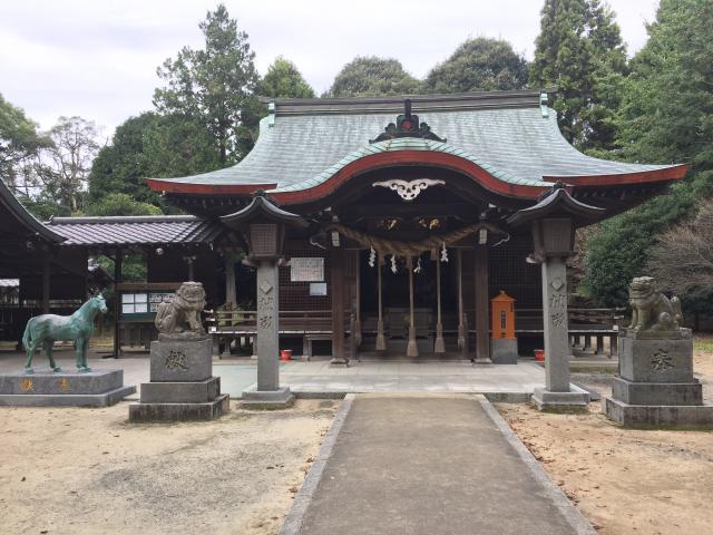 福岡県筑紫神社の本殿