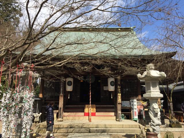 福岡県如意輪寺の本殿