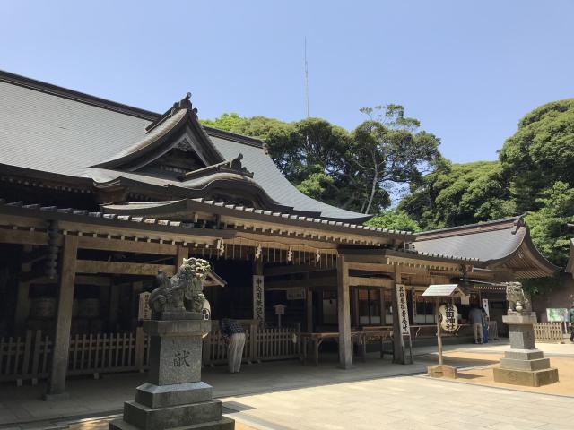 千葉県猿田神社の本殿