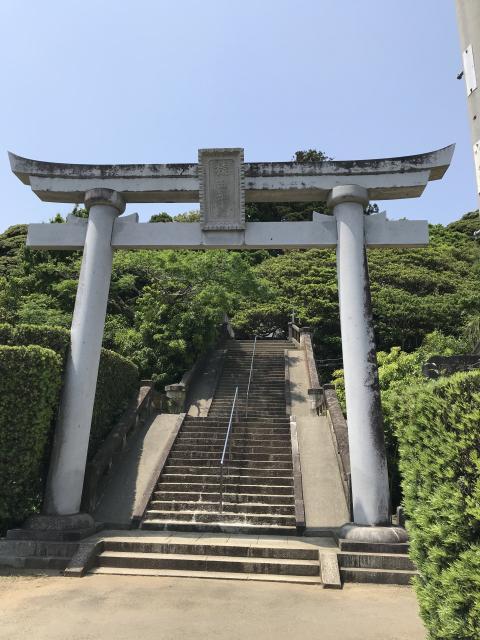 千葉県猿田神社の鳥居