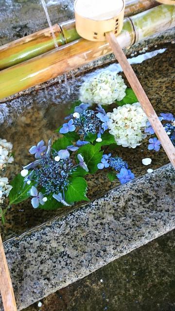 大神神社の手水