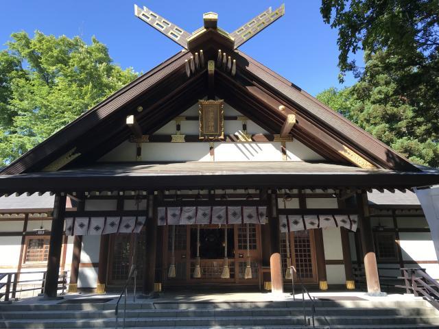 北海道新琴似神社の本殿