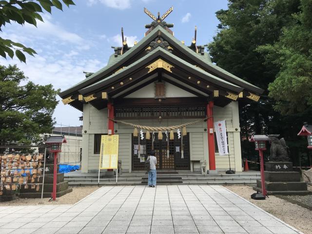 北海道発寒神社の本殿