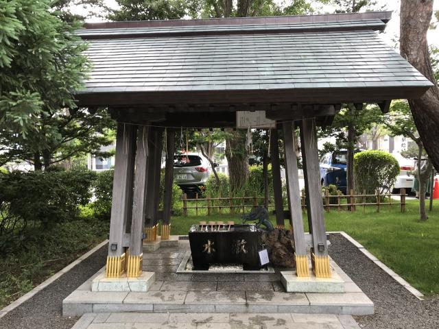 西野神社の手水