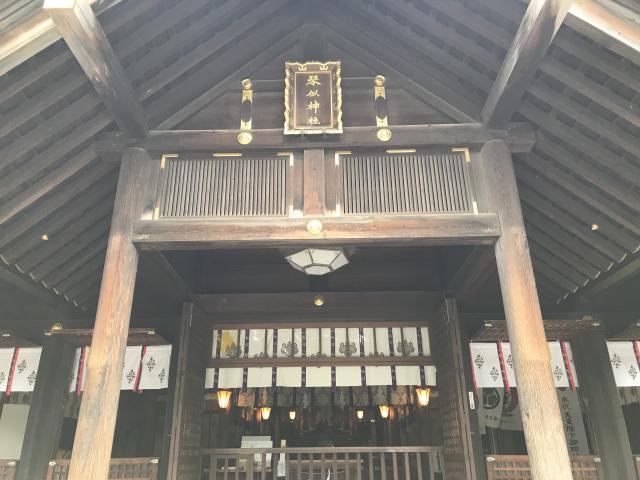 琴似神社の本殿