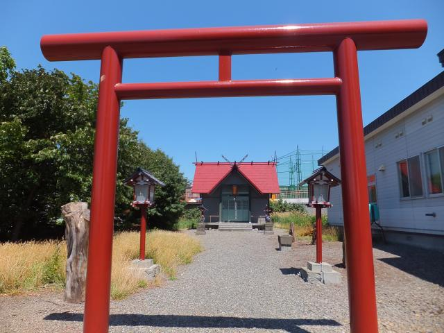 豊畑神社(北海道元町(札幌)駅) - 鳥居の写真