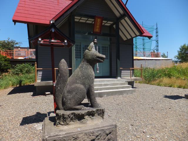 北海道豊畑神社の鳥居