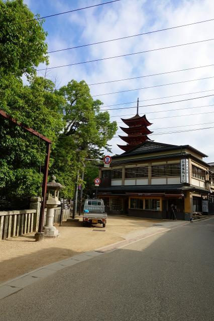 三翁神社の周辺