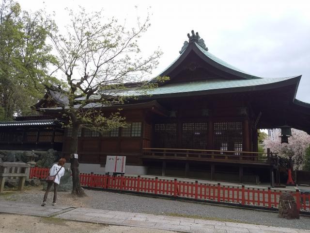 愛知県城山八幡宮の本殿