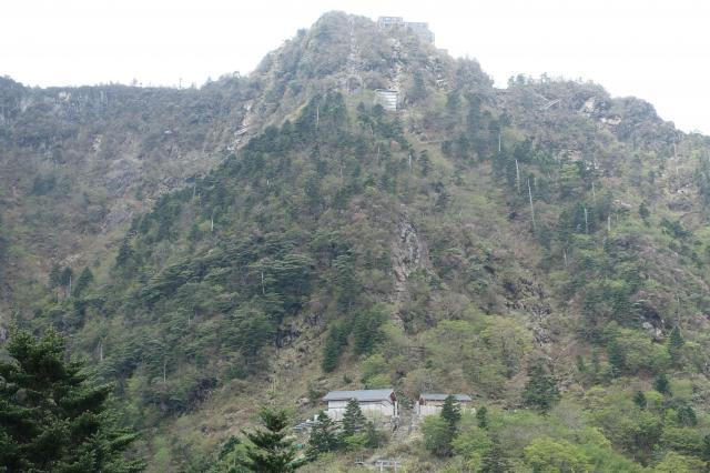 愛媛県石鎚神社の自然