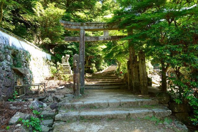瀧宮神社の鳥居