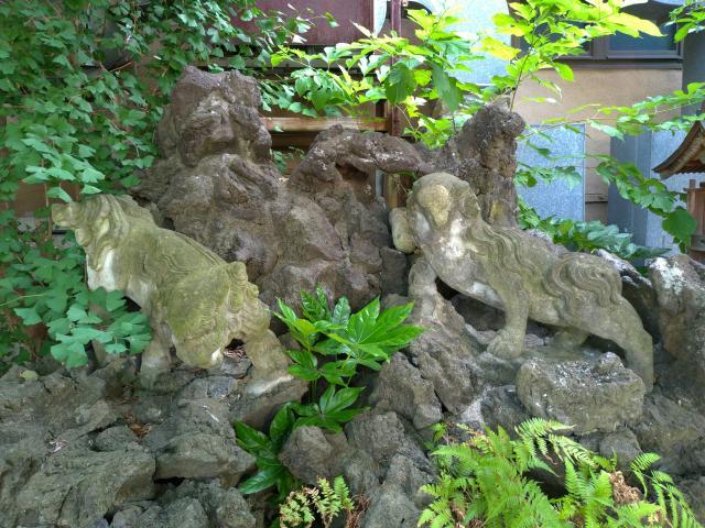 中城天満宮の狛犬