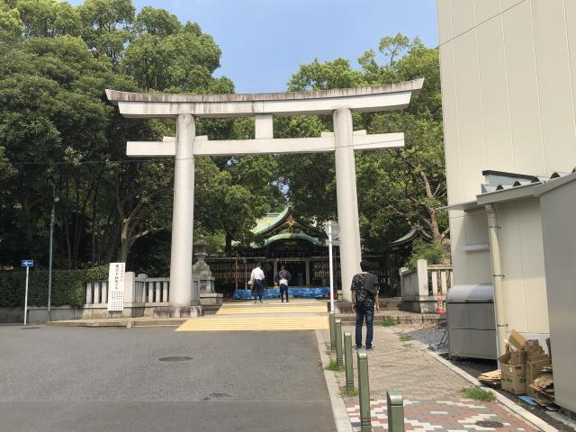東京都王子神社の鳥居