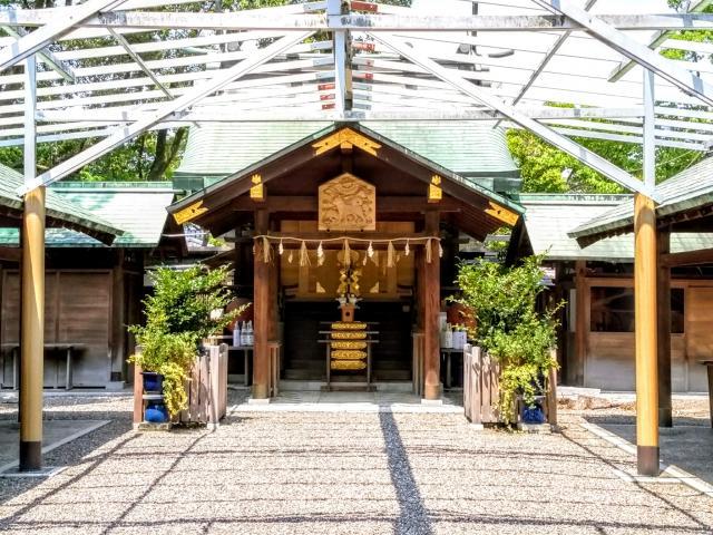 愛知県豊國神社の本殿