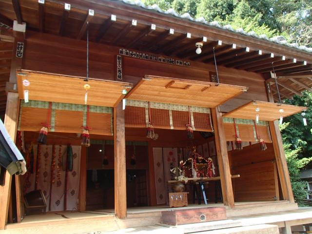 島根氷川神社の本殿