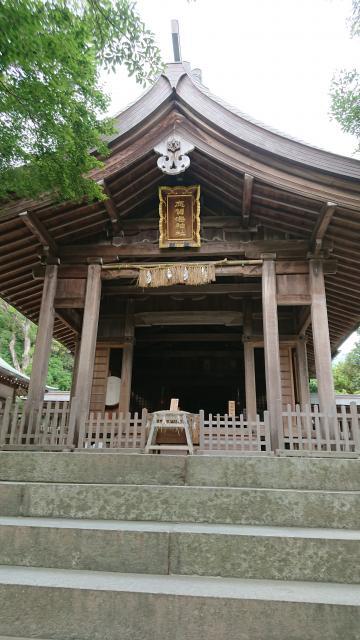 福岡県志賀海神社の本殿