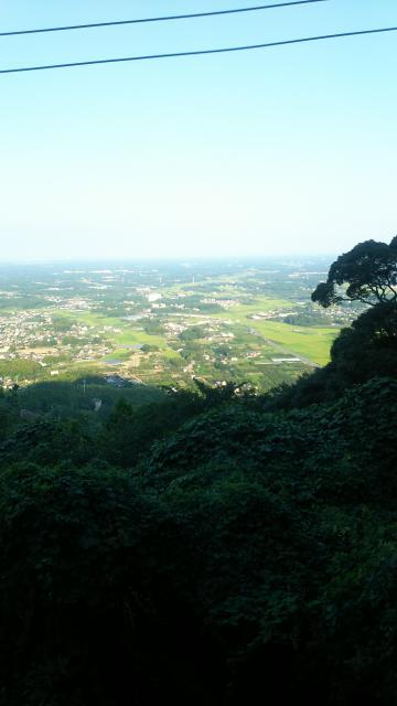 茨城県愛宕神社の景色
