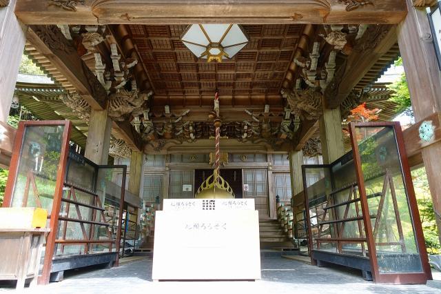 大聖院の本殿