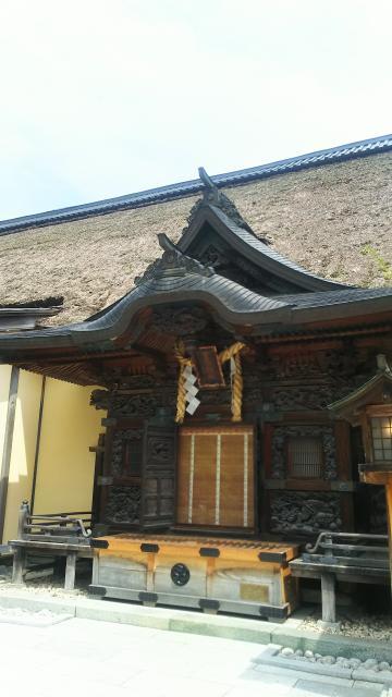 栃木県古峯神社の本殿
