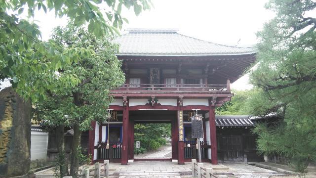 京都府本法寺の山門