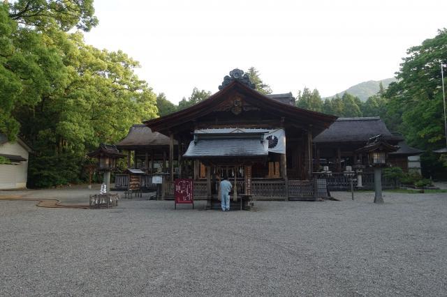 高知県土佐神社の本殿