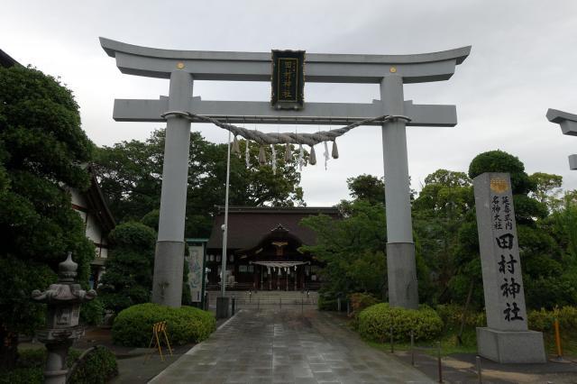 香川県田村神社の鳥居
