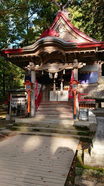 中野神社の本殿