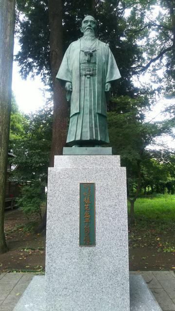 茨城県合氣神社の像