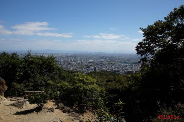 中山寺奥之院の景色
