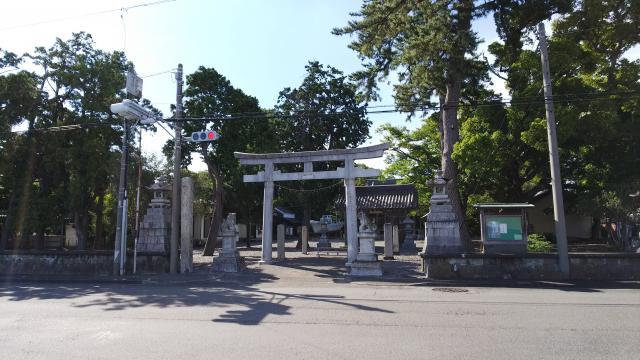 静岡県片岡神社の本殿