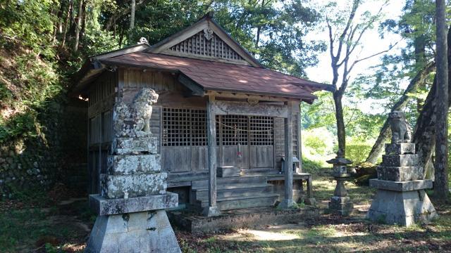 奥神社の本殿