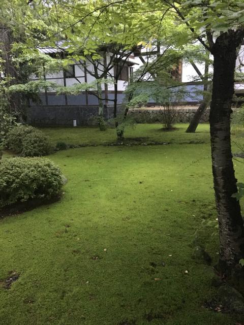 正樂寺の庭園