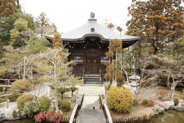 京都府清凉寺の本殿