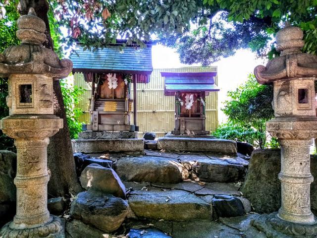 豊國神社の近くの神社お寺|明神社(東宿明神社)