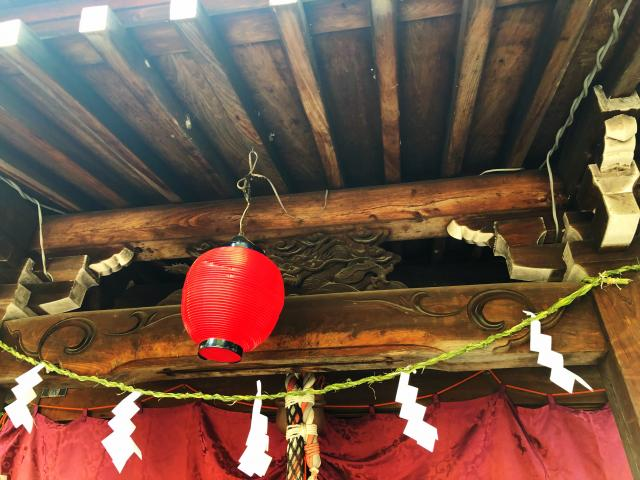 岐阜県手力雄神社の本殿