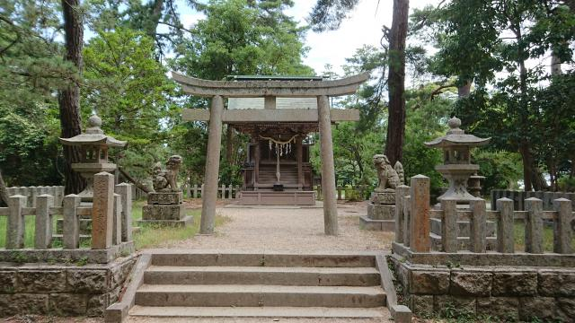 京都府天橋立神社の鳥居