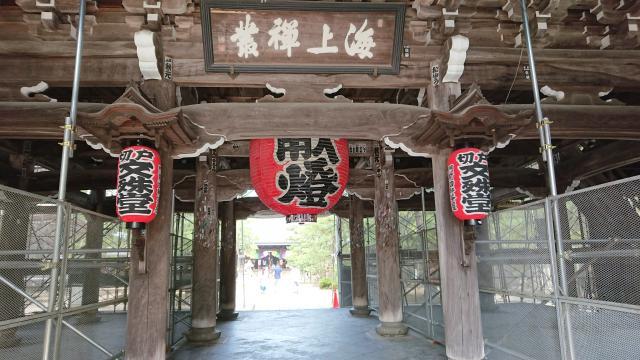 京都府智恩寺の山門