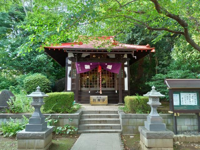 境木地蔵尊の本殿