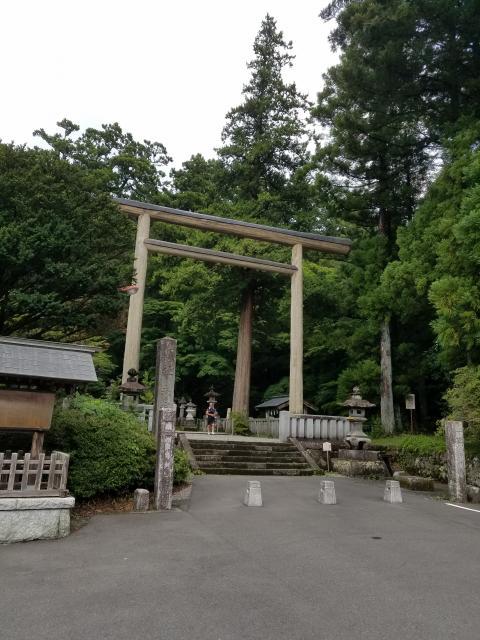 赤城神社の鳥居