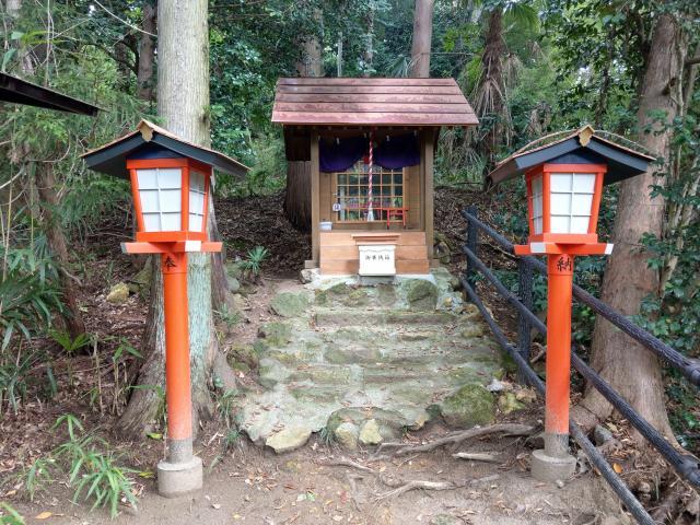福島県西坂ねこ稲荷神社の本殿