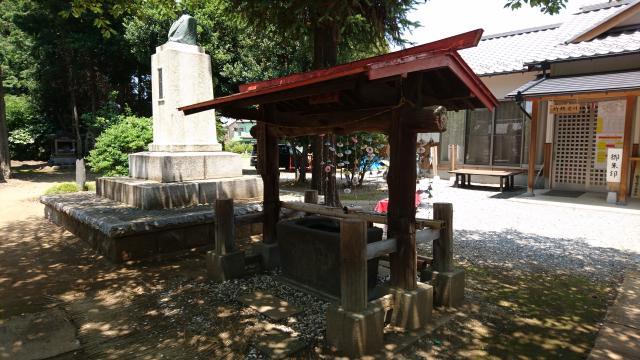 鶴峯八幡宮の手水