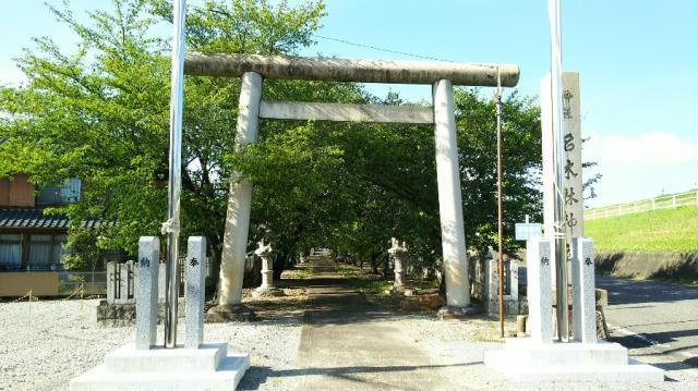 岐阜県名木林神社の鳥居