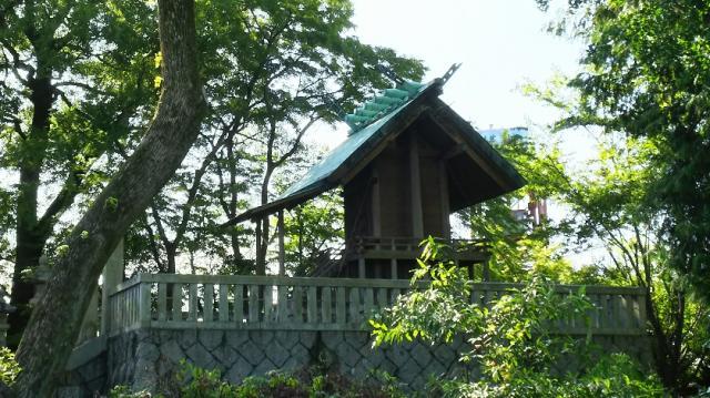 岐阜県名木林神社の本殿