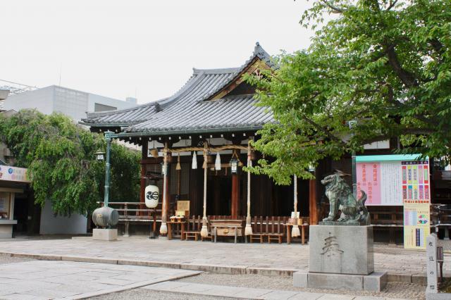 兵庫県射楯兵主神社の本殿