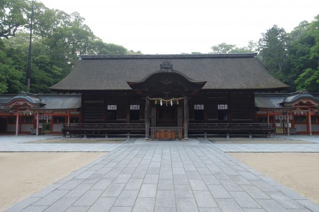 愛媛県大山祇神社の本殿