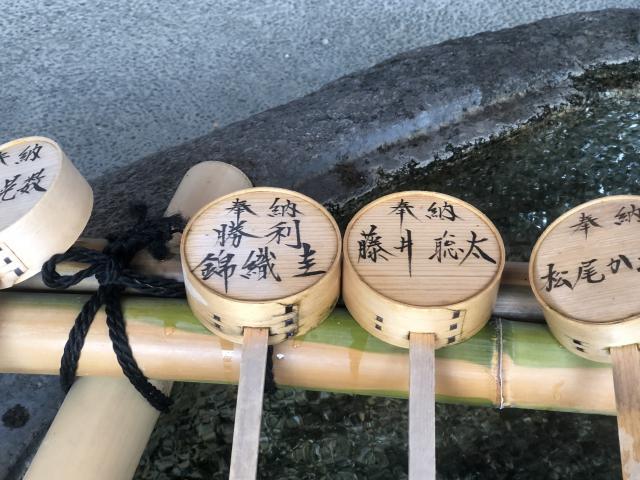 金神社(岐阜県名鉄岐阜駅) - 手水舎の写真