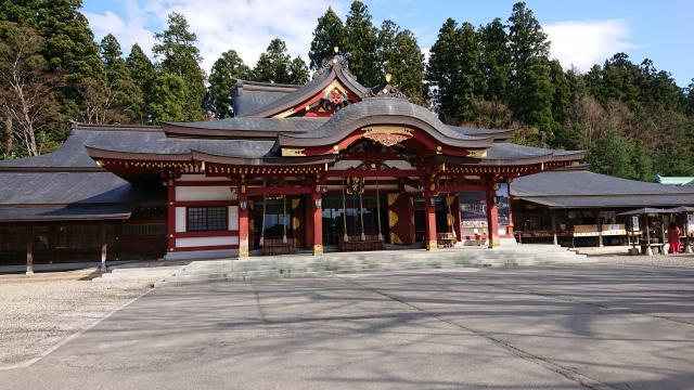 岩手県盛岡八幡宮の本殿