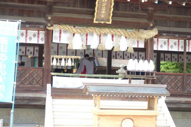 兵庫県伊弉諾神宮の本殿
